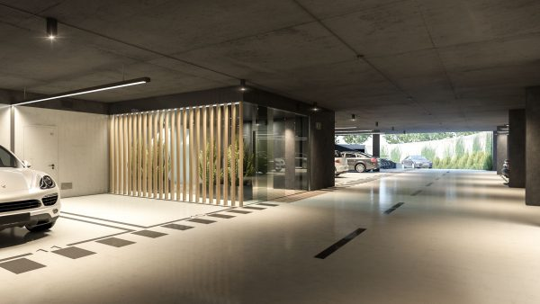 Garages in the New Development