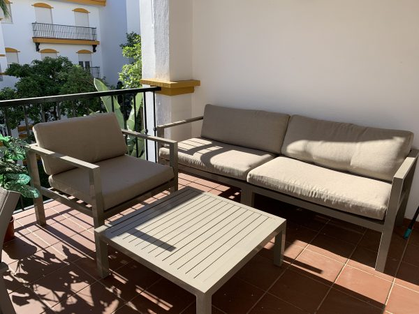1 Bedroom Apartment for Sale in Dama de Noche - Terrace