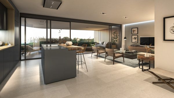 Interior of Apartment Type 2 - Salon