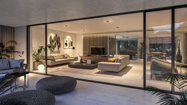 Interior of Apartment Type 4 - Salon