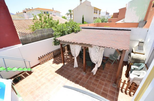 Fabulous Outside Space with Pool Townhouse for sale Pueblo Nuevo de Guadiaro